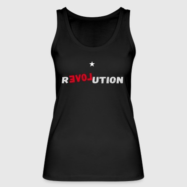 revolution star Love demonstartion - Women's Organic Tank Top by Stanley & Stella
