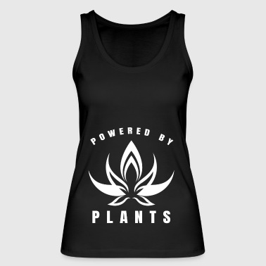 Powered by Plants Gift Vegan Vegans - Women's Organic Tank Top by Stanley & Stella