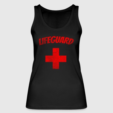 Lifeguard grunge - Rescue Swimmer T-Shirt - Women's Organic Tank Top by Stanley & Stella
