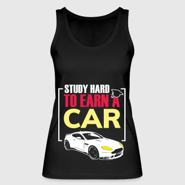 Learning - Studying - Car - Gift - Graduation - Women's Organic Tank Top by Stanley & Stella