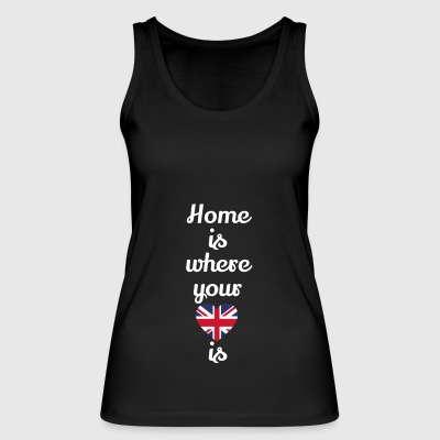 gift home heart love love England - Women's Organic Tank Top by Stanley & Stella