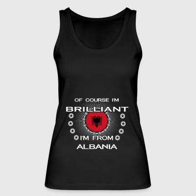 I AM GENIUS CLEVER BRILLIANT ALBANIA - Women's Organic Tank Top by Stanley & Stella