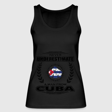 Never Underestimate Man Roots CUBA png - Women's Organic Tank Top by Stanley & Stella