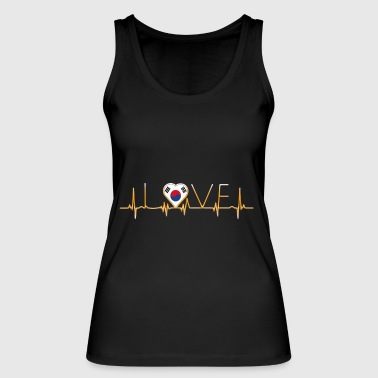 home roots home love heart from South Korea - Women's Organic Tank Top by Stanley & Stella