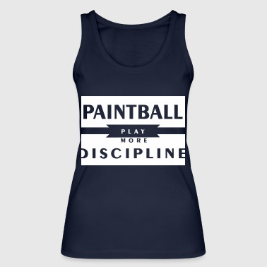 Paintball - Women's Organic Tank Top by Stanley & Stella