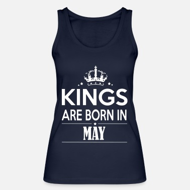 Birth King May Born - Women's Organic Tank Top by Stanley & Stella