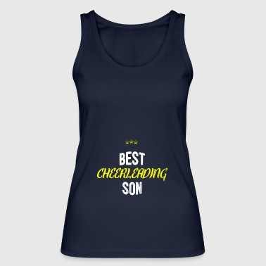 Distressed - BEST CHEERLEADING SON - Women's Organic Tank Top by Stanley & Stella