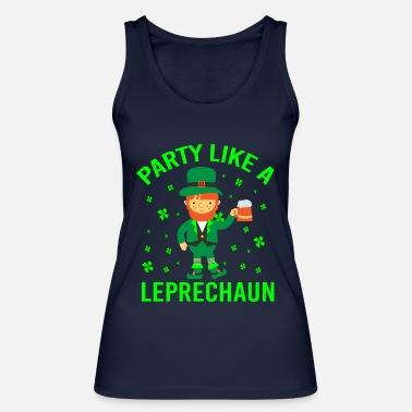 675d727a4398f St Patricks Day PARTY LIKE A LEPRECHAUN - Women  39 s Organic Tank Top