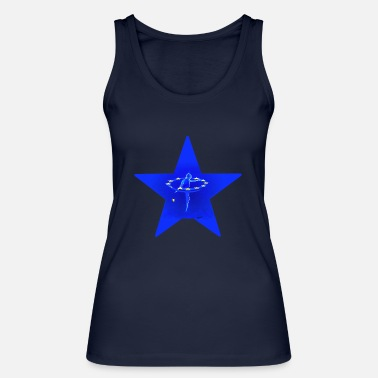 Unity Star of unity - Women's Organic Tank Top by Stanley & Stella
