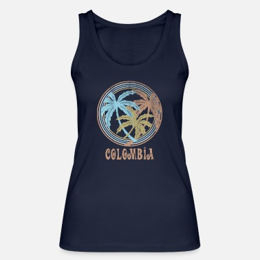 Colombia Colombia - Women's Organic Tank Top by Stanley & Stella