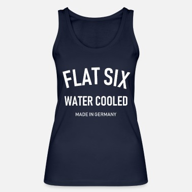Water Cooled Flat Six - Water Cooled - Made in Germany - Boxer - Women's Organic Tank Top