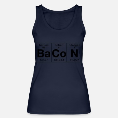 Glutony The Elements of BaCoN - Women's Organic Tank Top