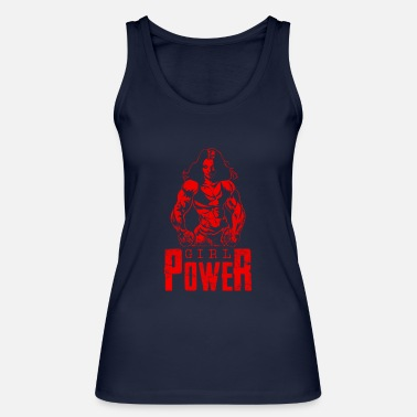 Woman Power Girl power woman power woman - Women's Organic Tank Top