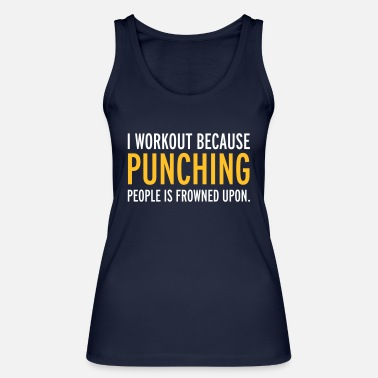 Funny Workout - Women's Organic Tank Top