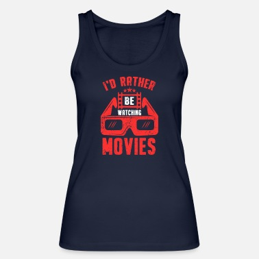 Horror Film Series Feature Film Drama Horror Kino Spruch - Women's Organic Tank Top