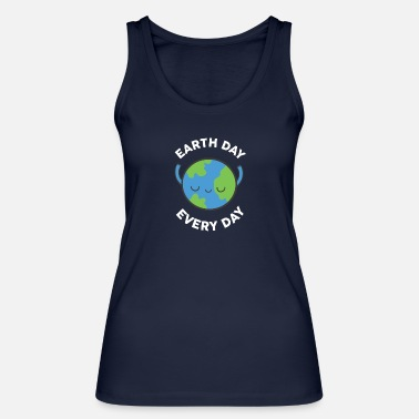 Day Earth Day Every Day Nature Protection Gift - Ekologisk tanktopp dam