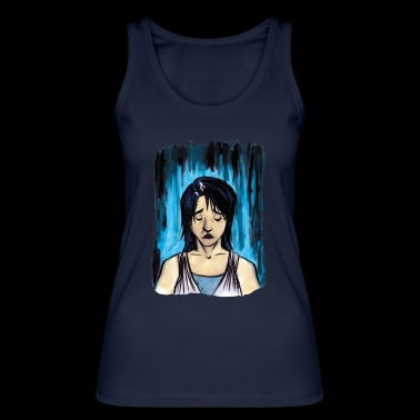 Sadness - Women's Organic Tank Top by Stanley & Stella