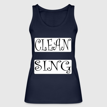 Cleansing - Women's Organic Tank Top by Stanley & Stella