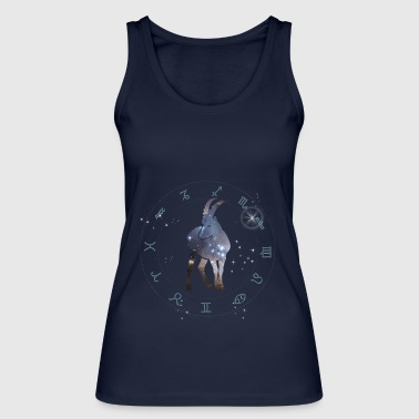 capricorn universe constellation astrology sternzeic - Women's Organic Tank Top by Stanley & Stella