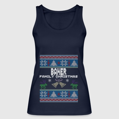 Ugly Baker Christmas Family Vacation Tshirt - Women's Organic Tank Top by Stanley & Stella