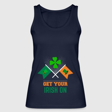 Get your Irish on St Patricks Day Bekleidung - Frauen Bio Tank Top von Stanley & Stella