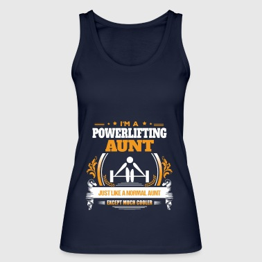 Powerlifting Aunt Shirt Gift Idea - Women's Organic Tank Top by Stanley & Stella