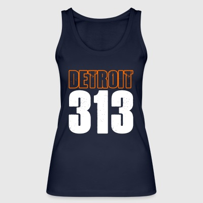 Detroit 313 Shirt - Women's Organic Tank Top by Stanley & Stella