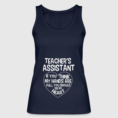 Teacher teacher school teacher teach chaos fun tea - Women's Organic Tank Top by Stanley & Stella