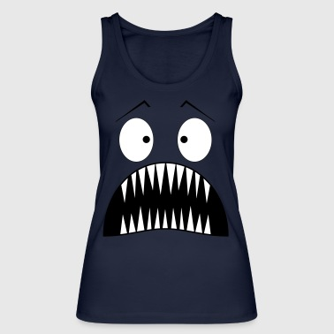 Monster surprised - Women's Organic Tank Top by Stanley & Stella