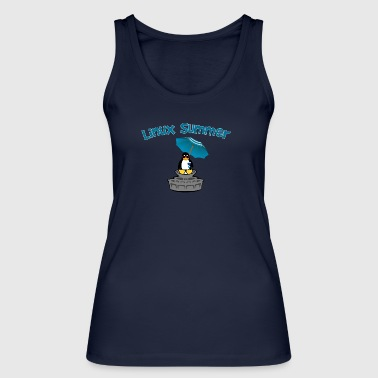 linux summer - Women's Organic Tank Top by Stanley & Stella
