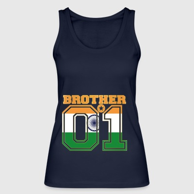 king bruder brother 01 partner Indien - Frauen Bio Tank Top von Stanley & Stella