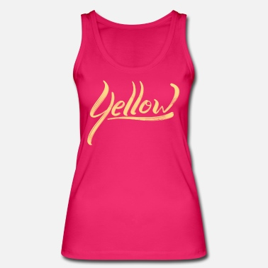 Yellow yellow - Women's Organic Tank Top