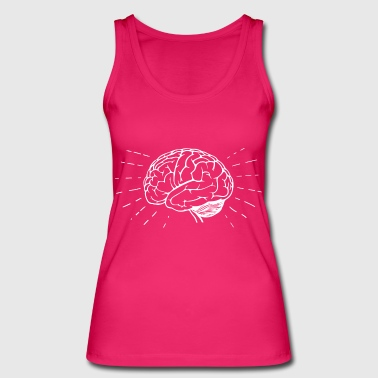 Brain Brain Brain Brain medicine surgery idea - Women's Organic Tank Top by Stanley & Stella