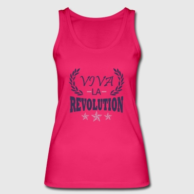 revolution - Women's Organic Tank Top by Stanley & Stella