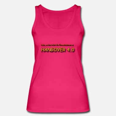 Guys Night Out Hangover 4.0 - Women's Organic Tank Top