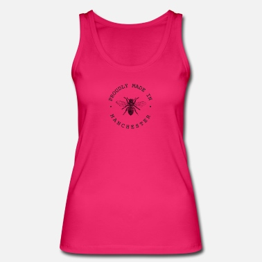 Manchester Worker Bee 'Proudly Made in Manchester' - Women's Organic Tank Top