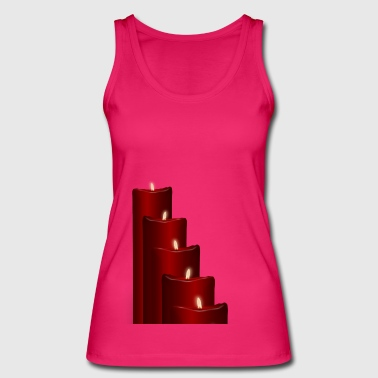 Advent candles - Women's Organic Tank Top by Stanley & Stella