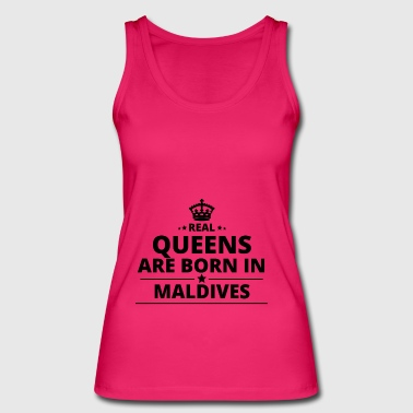 gift love queens are born MALDIVES - Women's Organic Tank Top by Stanley & Stella