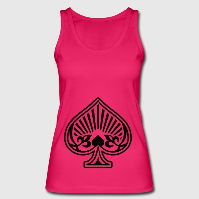 As Piques Poker Cards - Women's Organic Tank Top by Stanley & Stella