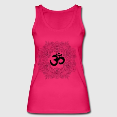 Mandala with Om, hand drawn - Women's Organic Tank Top by Stanley & Stella