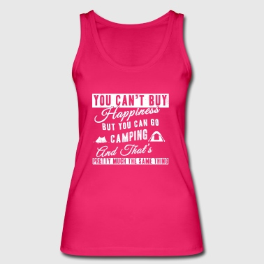 Camping T-Shirt You Can go Camping - Frauen Bio Tank Top von Stanley & Stella
