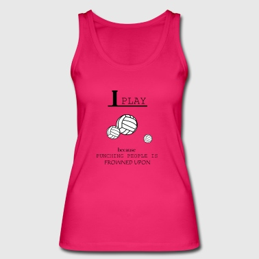 Volleyball, beach volleyball, volleyball girls - Women's Organic Tank Top by Stanley & Stella