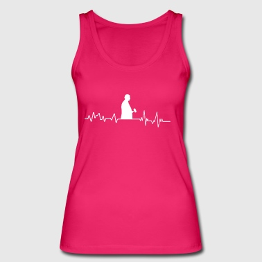 Heartbeat judge t-shirt gift court judgment - Women's Organic Tank Top by Stanley & Stella