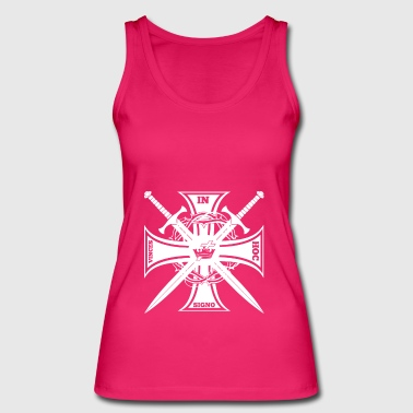 Knights Templar In Hoc Sign Vinces Gift - Women's Organic Tank Top by Stanley & Stella