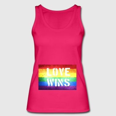 Gay marriage love wins gift - Women's Organic Tank Top by Stanley & Stella
