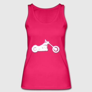 Hobo Softail chopper - Women's Organic Tank Top by Stanley & Stella