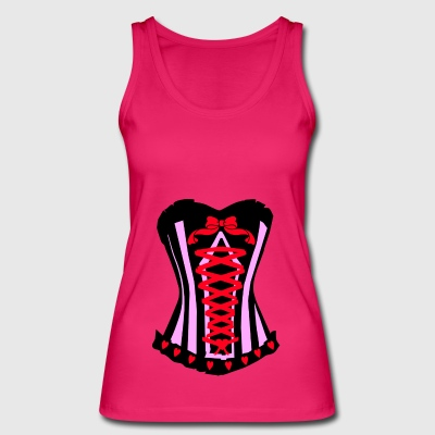 Corset Sexy Girl - Women's Organic Tank Top by Stanley & Stella
