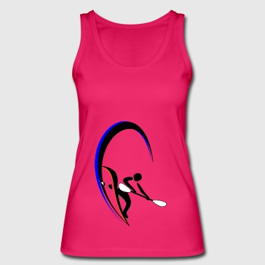 water skiing - Women's Organic Tank Top by Stanley & Stella