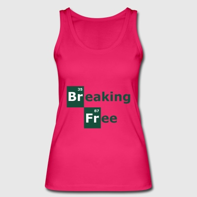 breaking free - Women's Organic Tank Top by Stanley & Stella