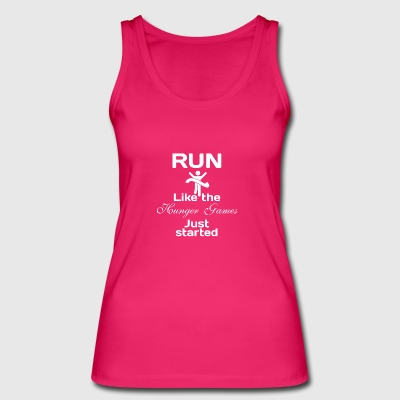 run - Women's Organic Tank Top by Stanley & Stella